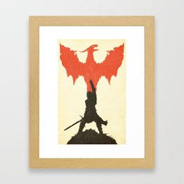 Dragon Age: Inquisition V1 Framed Art Print