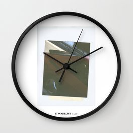It Was Love - LANY Wall Clock