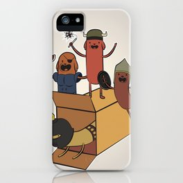 AT - Hog Dog Knights iPhone Case