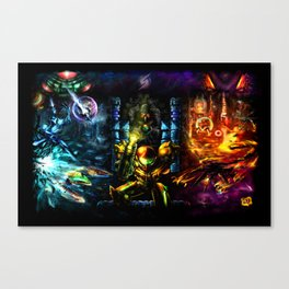 Metroid: 25 Years Canvas Print