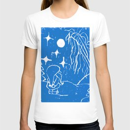 The Winter Elf - Snow Blue T-shirt