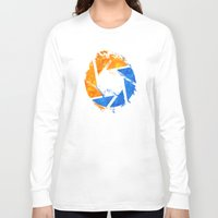 aperture Long Sleeve T-shirts featuring Aperture Vandal by Toronto Sol