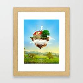 Joseph's Moving Castle Framed Art Print