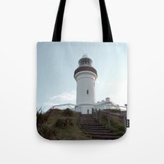 Lighthouse in Byron Bay, Australia Tote Bag