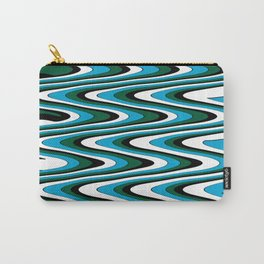 Blue green slur Carry-All Pouch
