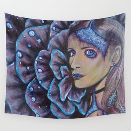 The Underwater Garden Has Frosted Over Wall Tapestry