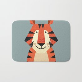 Whimsy Tiger Bath Mat