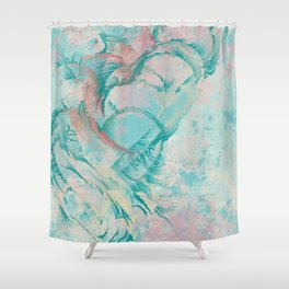 Heartbleed Shower Curtain