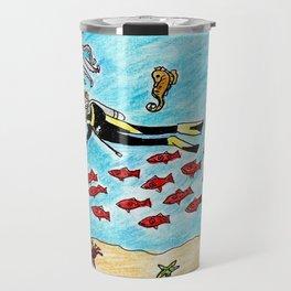 So Much To Sea Travel Mug