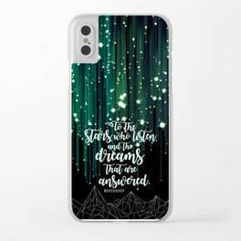 ACOMAF - Starfall Clear iPhone Case
