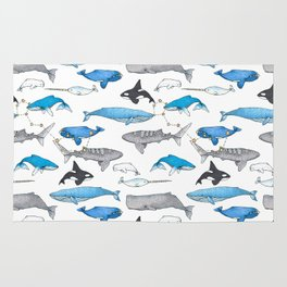 Whale Constellation Rug