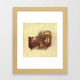 Just Desserts Framed Art Print