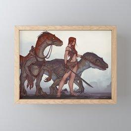 Ark Game Cover Framed Mini Art Print
