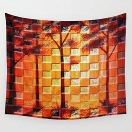 Mosaic Woodlands Wall Tapestry