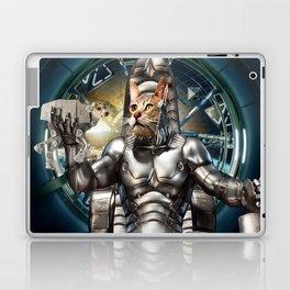 Robot Space Cat Laptop & iPad Skin