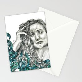A sea of doubt Stationery Cards