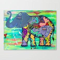 ENIGMA ELEPHANTE Canvas Print