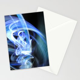 (Mostly) Blue Light Painting Stationery Cards