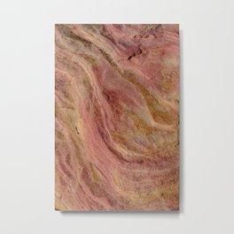 Natural Sandstone Art, Valley of Fire - 2 Metal Print