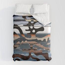 buried symbol Comforters