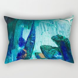 Bright Ocean Spaces, Tiny World Collection Rectangular Pillow