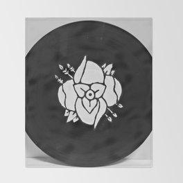 La Dispute On Vinyl Throw Blanket