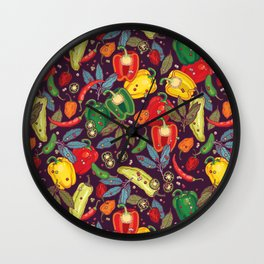 Hot & spicy! Wall Clock