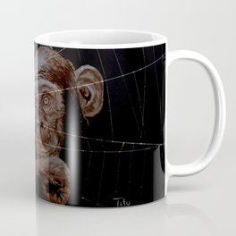 WATCHING THE SPIDER - cversion Coffee Mug