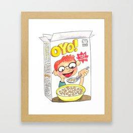 OYO! Framed Art Print