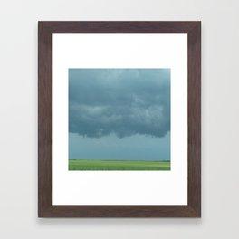 Storm Clouds // Landscape Photography Framed Art Print