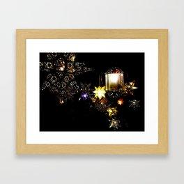 Las Estrellas Framed Art Print
