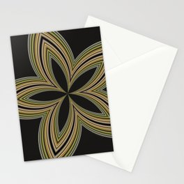 Fractal Star Aura in CMR 01 Stationery Cards