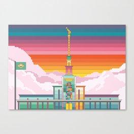Templo de São Paulo Canvas Print