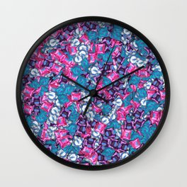 Full of condoms Wall Clock