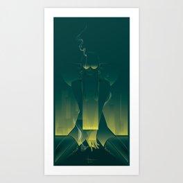 SCHMOKE Art Print