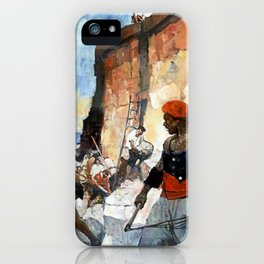 """""""Tripoli Pirates"""" by Frank Schoonover iPhone Case"""