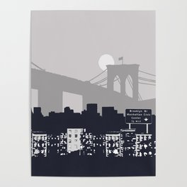 New York Graphic Poster