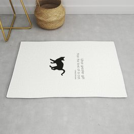 What a greater gift than the love of a cat (Charles Dickens) Rug