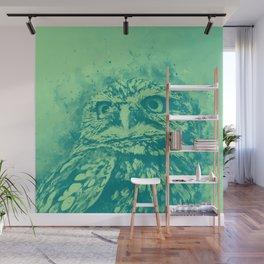 owl portrait 5 wstk Wall Mural