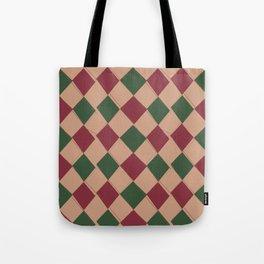 Modern Argyle 3 Tote Bag