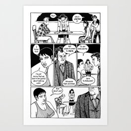 Johnny Public chapter 10, page 22 Art Print