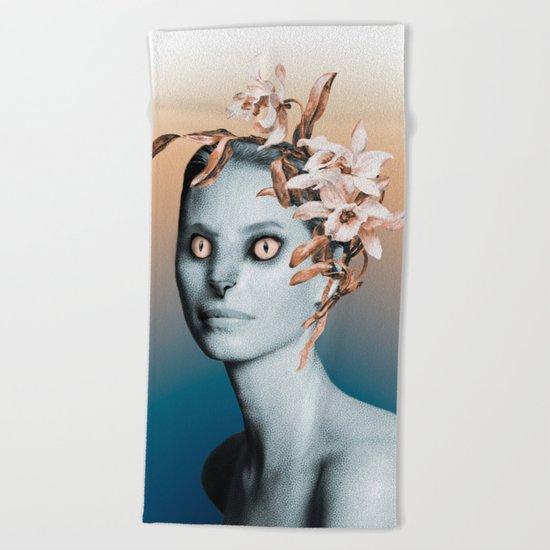Werewoman Beach Towel