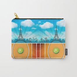 Paris Tennis Carry-All Pouch