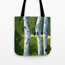 Aspens - Catching the Light Tote Bag