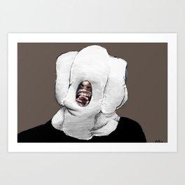 Dillion as Cenobite Art Print