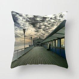 Pier Theatre, Bournemouth Throw Pillow