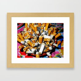 ashes Framed Art Print