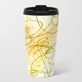 Golden Dream Metal Travel Mug