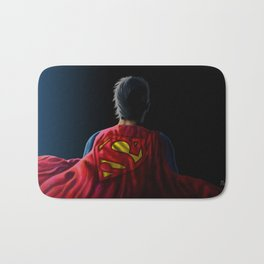 Man of Steel Bath Mat