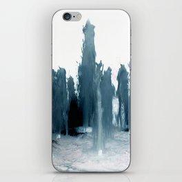 Negative Water Fountain iPhone Skin